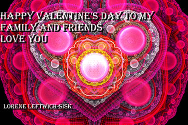 wishing everyone a happy valentine's day by loreleft27