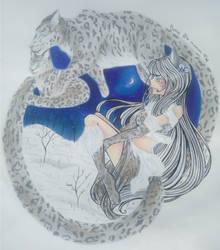 Snow Leopard*update* by kathe-cat
