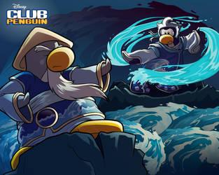 Club Penguin Card-Jitsu water by juliazn14