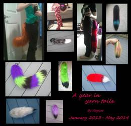 Yarn Tail Dump by Illogicat