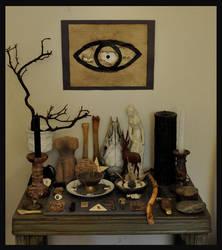 altar II by obleakpattern