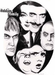 Addams Family by stevemadonna