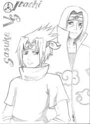 Sasuke Vs Hitachi by as2pic