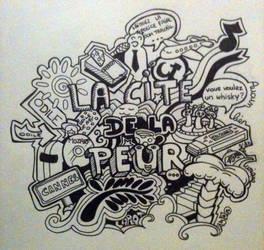 Doodle cite de la peur by as2pic