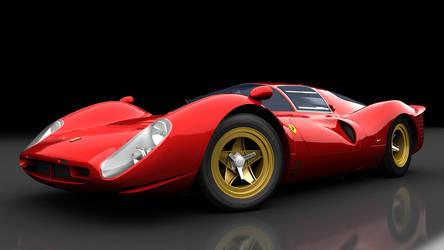 Ferrari 330P by daharid