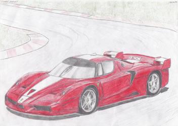 Ferrari FXX by daharid