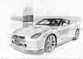 Nissan GT-R R35 Better Quality by daharid