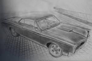 Pontiac GTO 1967 Best Quality by daharid