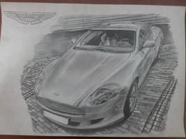 Aston Martin DB9 Finished by daharid