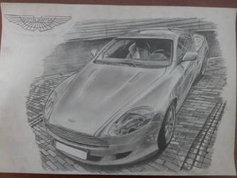 Aston Martin DB9 Finished by daharid