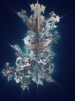 Leaves - Julia 3D fractal by KrzysztofMarczak