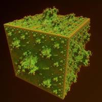 IFS fractal 8 by KrzysztofMarczak