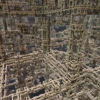 IFS fractal 9 by KrzysztofMarczak