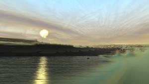 Sunset by KrzysztofMarczak