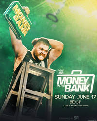 Money In The Bank Poster 2018 Ft Kevin Owens by Subinraj