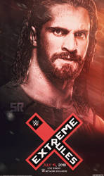 WWE Extreme Rules 2018 Poster by Subinraj
