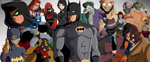 Batman by Maggotx9