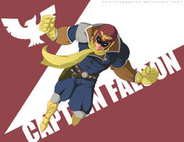 Captain Falcon by Maggotx9