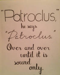 Until it is sound only. by this-is-a-paradox