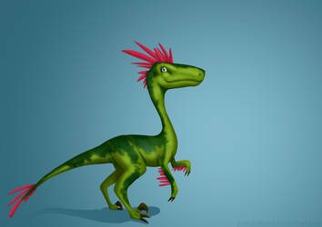 Velociraptor by PedrAntunes