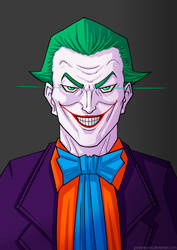 Joker #1 by PedrAntunes