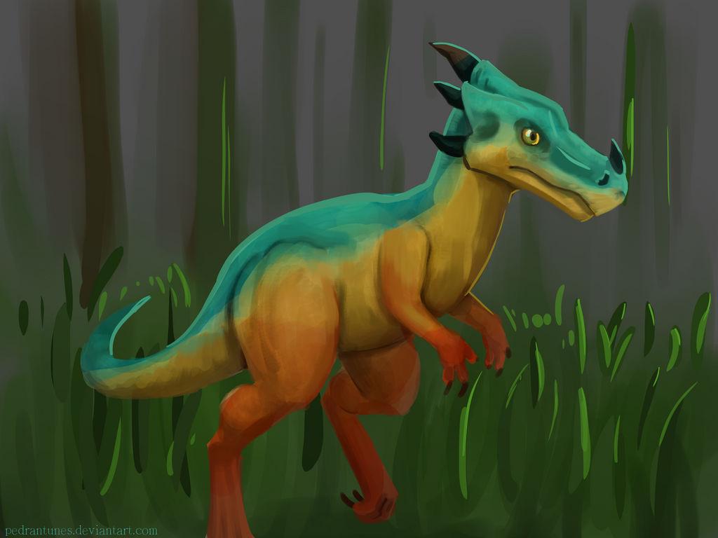 Dinosaur by PedrAntunes