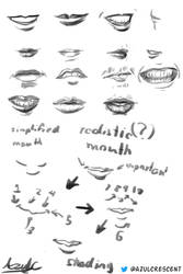 Mouths by AzulCrescent