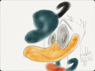 Donald Duck by cyrela