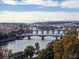 Prague Bridges by PaSt1978