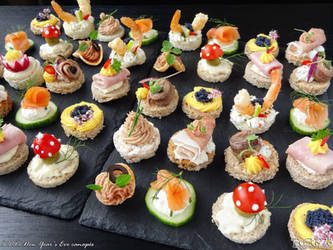 New Year's Eve canapes by PaSt1978