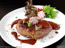 Beef Steak with chocolate sauce by PaSt1978
