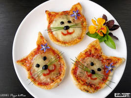 Pizza kitties by PaSt1978