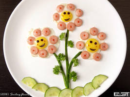 Smiling flowers by PaSt1978