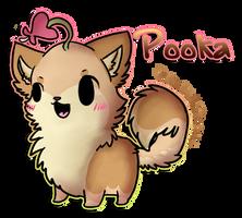 ::Pooka(chibi Commish):: by PrePAWSterous