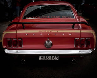Red Mustang. by onyxcomix