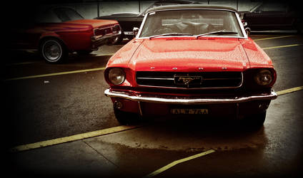 60's Mustang. by onyxcomix