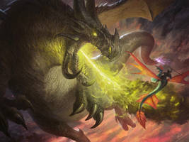 Dragon hunting by Asfodelo