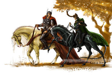 Horse riding. by jen-and-kris