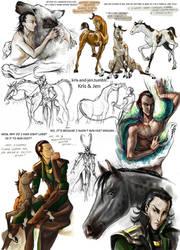 Sketch.Loki by jen-and-kris