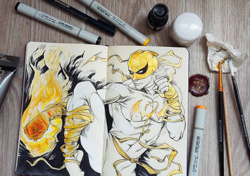 Iron Fist by jen-and-kris