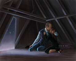 Commission.Night of mourning by jen-and-kris