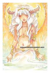 J.E. watercolor 04 by auroreblackcat