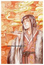Smoke -watercolors- by auroreblackcat