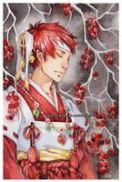 priest -watercolors- by auroreblackcat