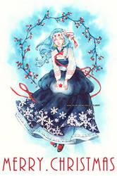 Xmas Lynette by auroreblackcat