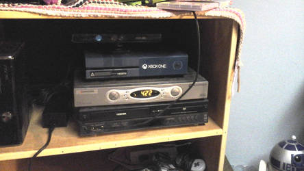 my new Xbox one from Christmas by megumbreon