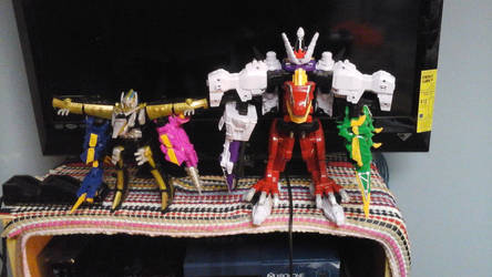 power ranger dino supercharge by megumbreon