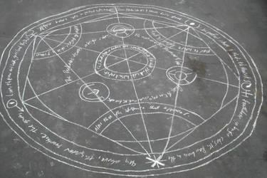 Human Transmutation Circle by PsychPurple01X