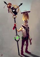 Time Traveler #1 by gianlucaromano