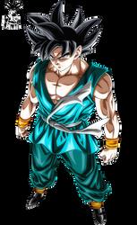 Son Goku Ultra Instinct Omen by ajckh2
